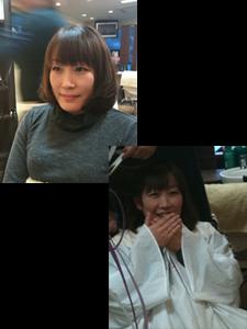 オーナーの古くからの友達のユミちゃんです