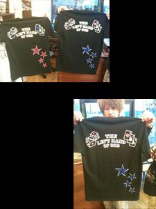 みなさま!!ついに!!ハーティーオリジナルTシャツが完成しました!