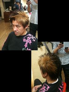 今日の講習は、小菅さんをモデルにカット&カラーをしてみました(^-^)/